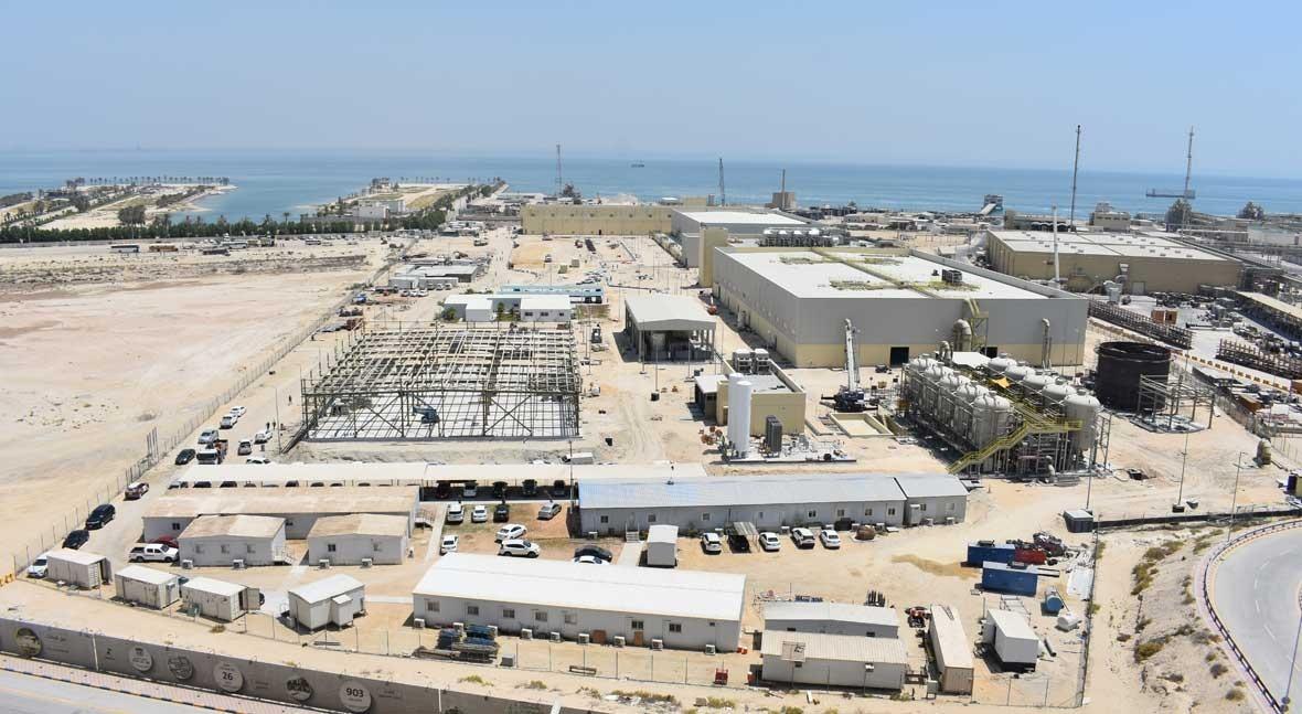 ACCIONA produces first cubic meter of water at Al-Khobar desalination plant in Saudi Arabia