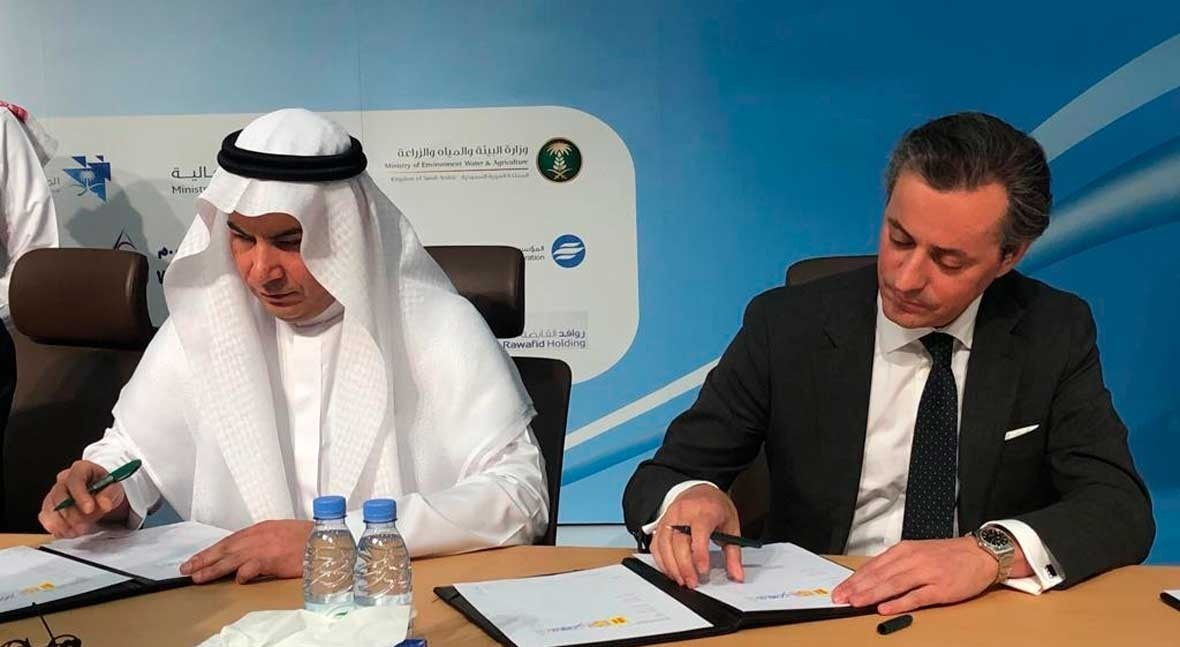 Acciona to build one of Saudi Arabia's biggest desalination plants for 750 million euros