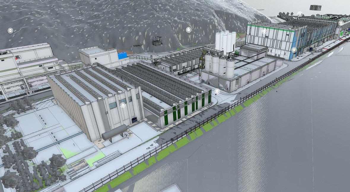 The Tseung Kwan O desalination plant, recognised in the Autodesk Hong Kong BIM Awards 2020