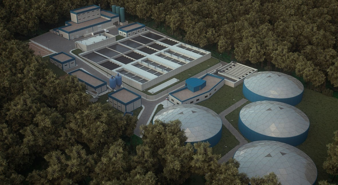 President of Panama visits the Ing. José G. Rodríguez water treatment plant, built by Acciona