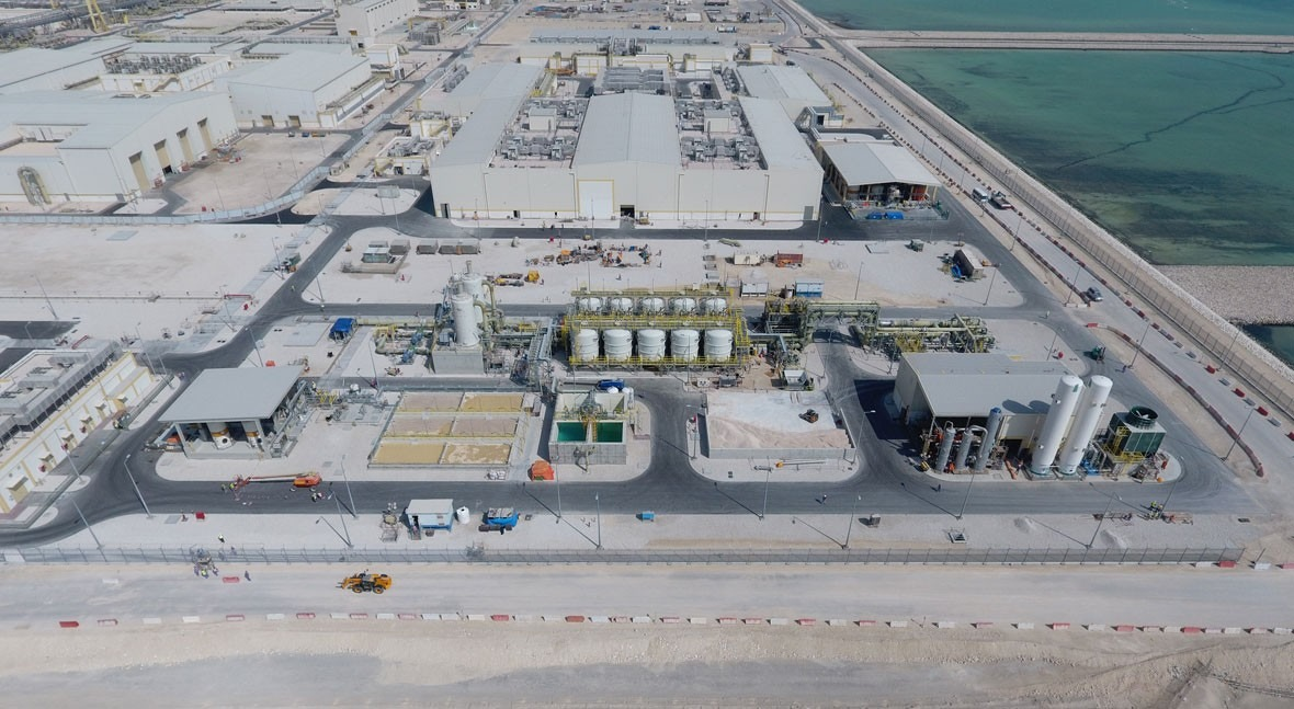 ACCIONA completes final tests at Umm Al Houl Expansion SWRO desalination plant