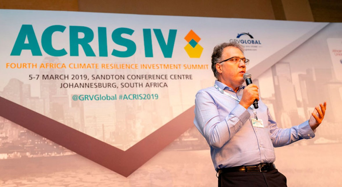 Almar presents the opportunities of private capital for water infrastructure at ACRIS IV