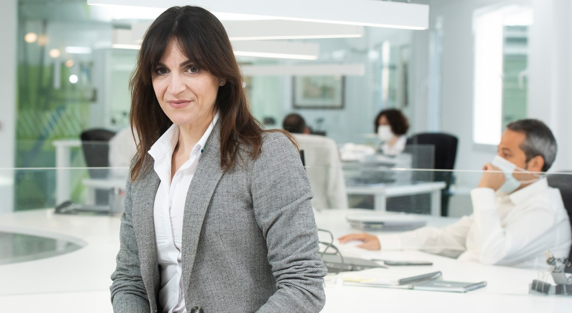 """Ana Valverde: """"Hidroconta's products are perceived as high-quality products"""""""