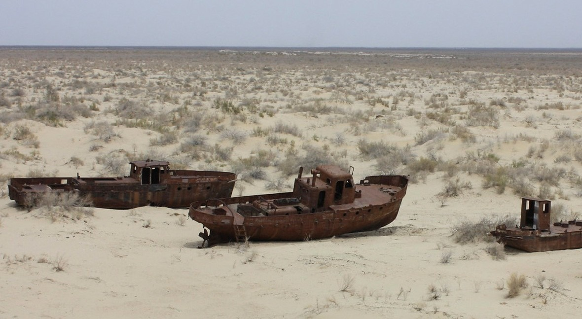 The Aral Sea: the difficult return of water