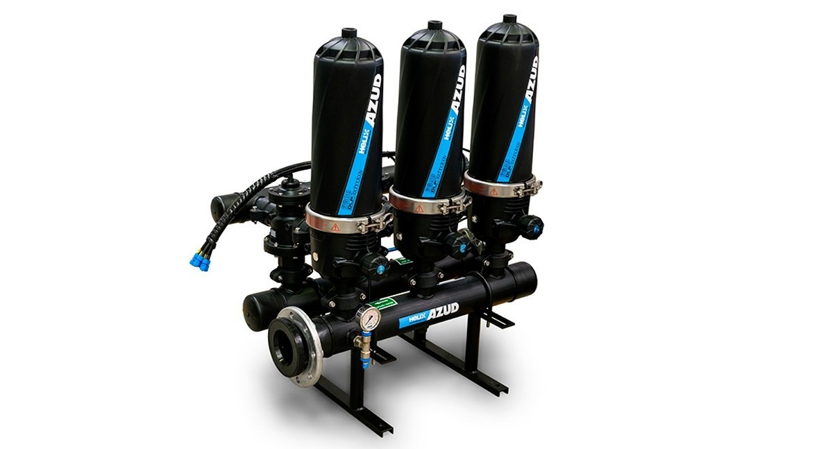 AZUD HELIX AUTOMATIC, efficient filtration adapted to various types of water and different sectors
