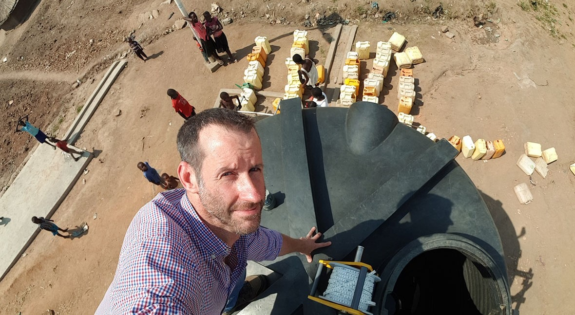 """Ben Harvey (UNHCR): """"IoT can change the way humanitarian organisations monitor refugee operations"""""""