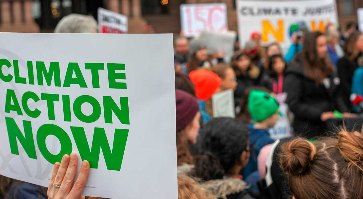 monster rally for climate change, but divergent goals hinder the fight