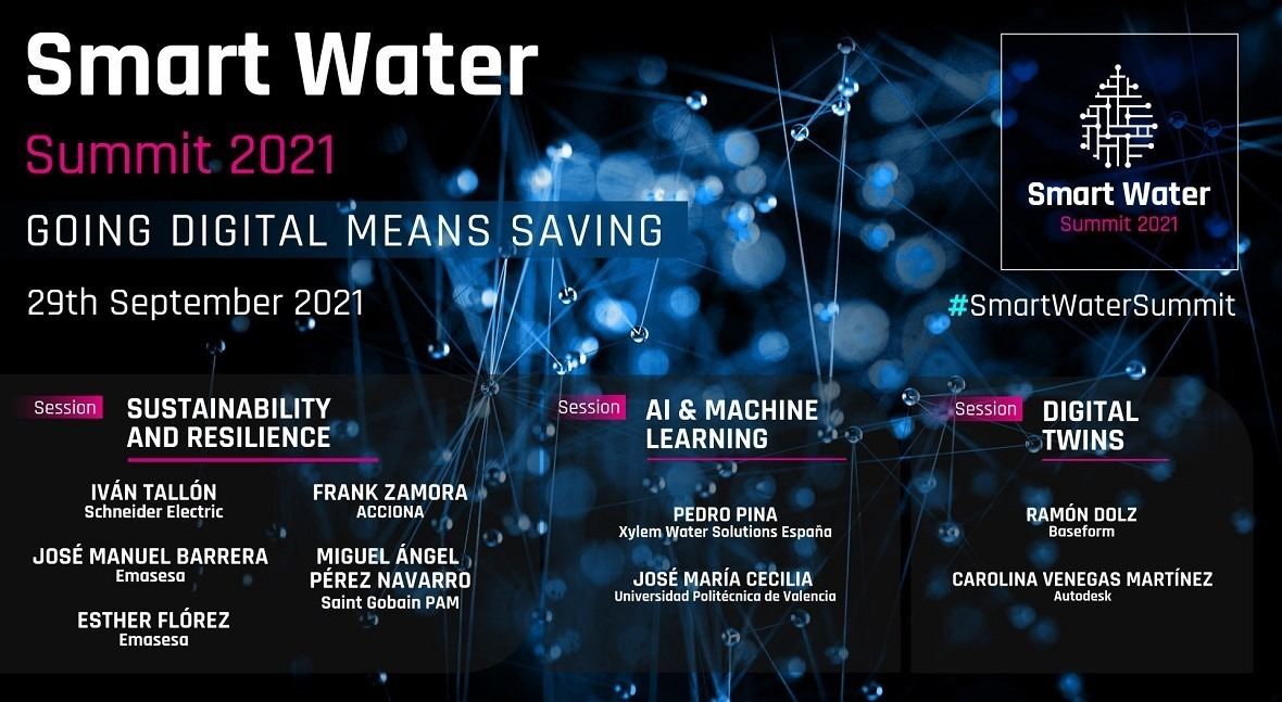 2021 Smart Water Summit: industry 5.0 as driver of sustainability & resilience of water systems