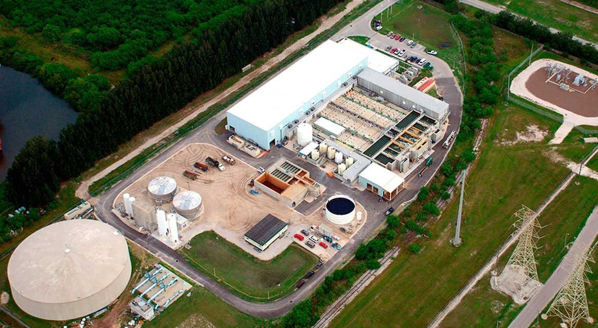 Discover the Tampa desalination plant