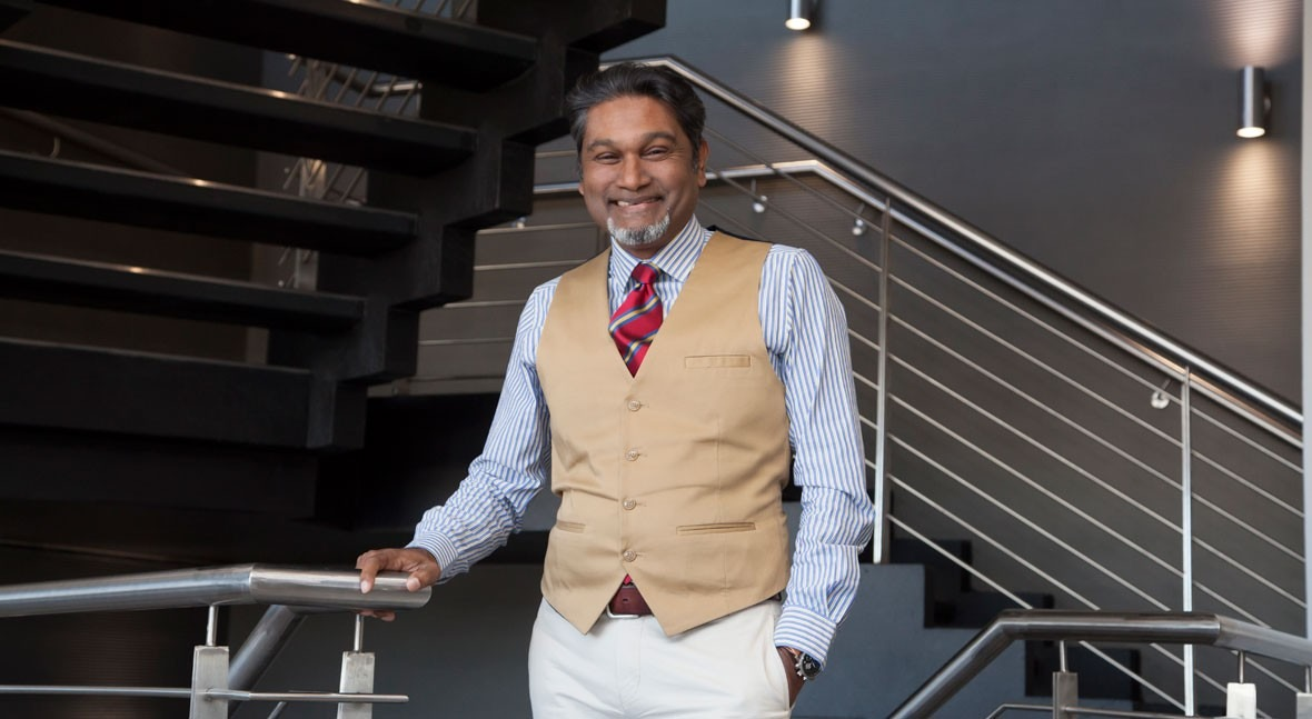 Dhesigen Naidoo, CEO of Water Research Commission South Africa
