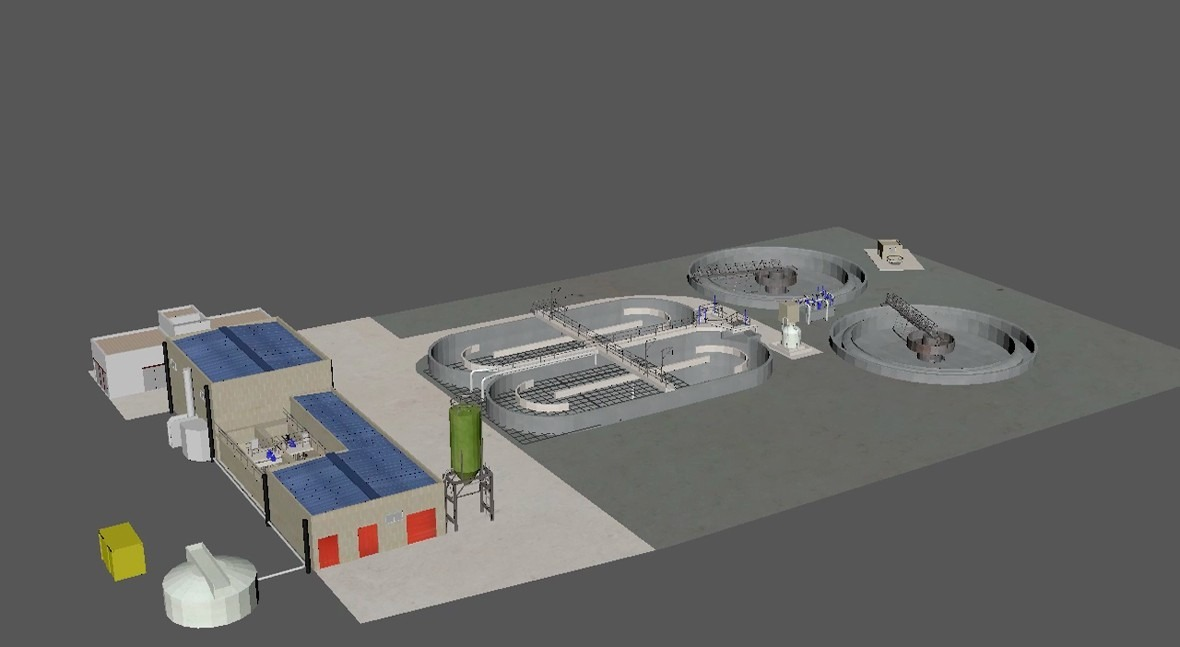 The Almunia Plant, an example of efficiency and autonomy in wastewater treatment