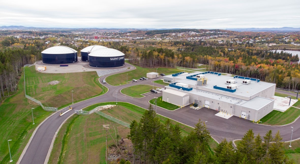 ACCIONA officially opens the St. John drinking water treatment plant in Canada
