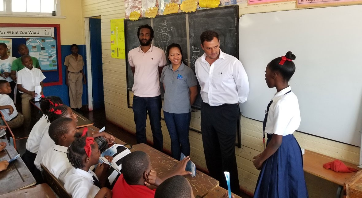 NWC, Miya Jamaica kick-start 2020 with Water Conservation School Programme