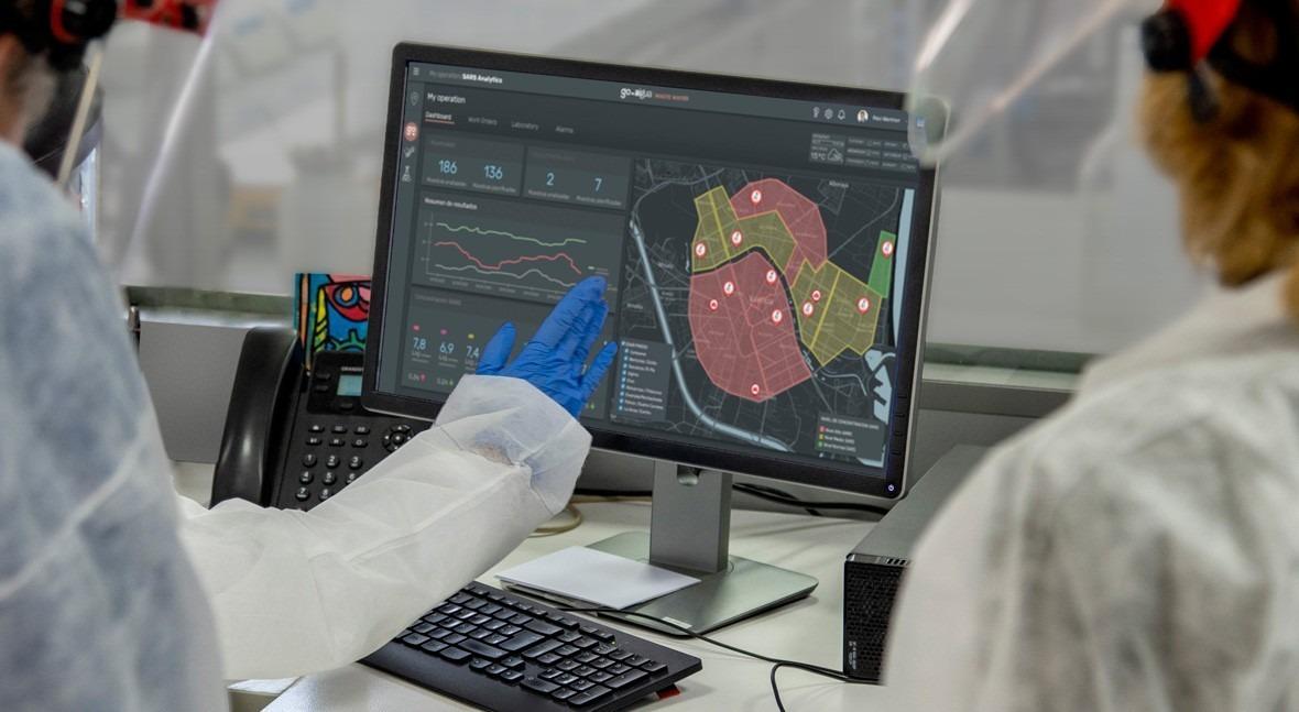 Valencia anticipates coronavirus outbreaks thanks to GoAigua SARS Analytics