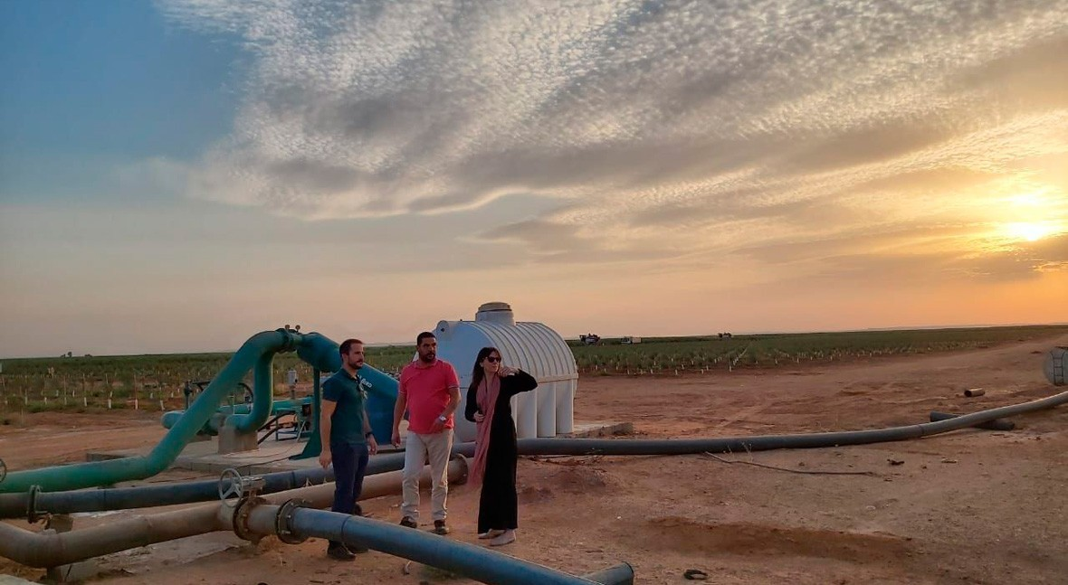Saudi Arabia monitors water withdrawal from groundwater aquifers with Spanish technology