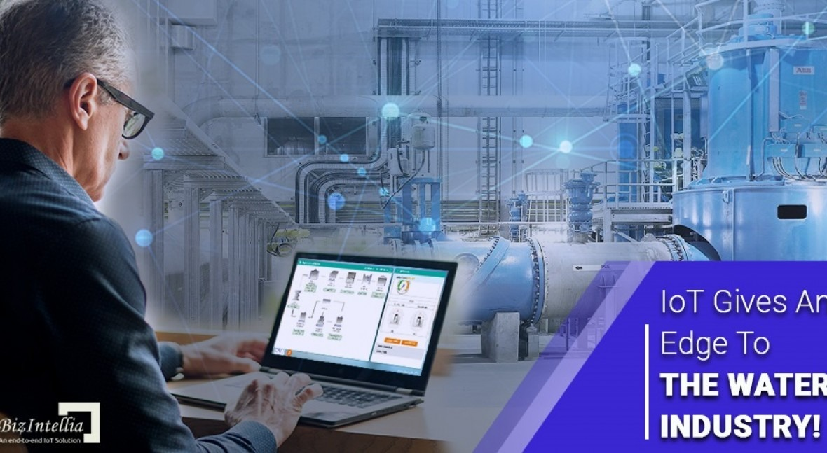 IoT gives an edge to the water industry