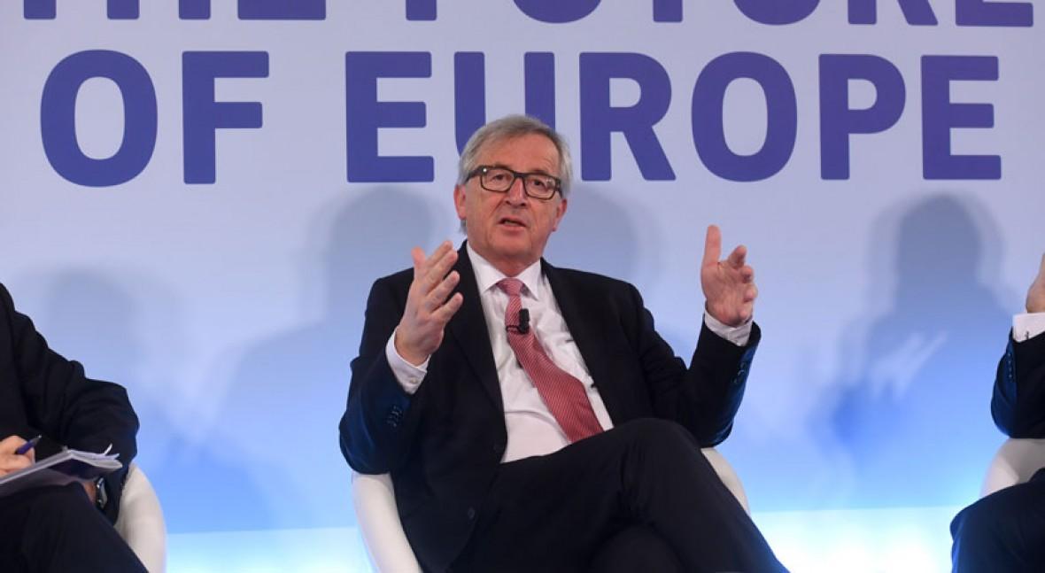 Junker pledges quarter of EU spending to climate change mitigation