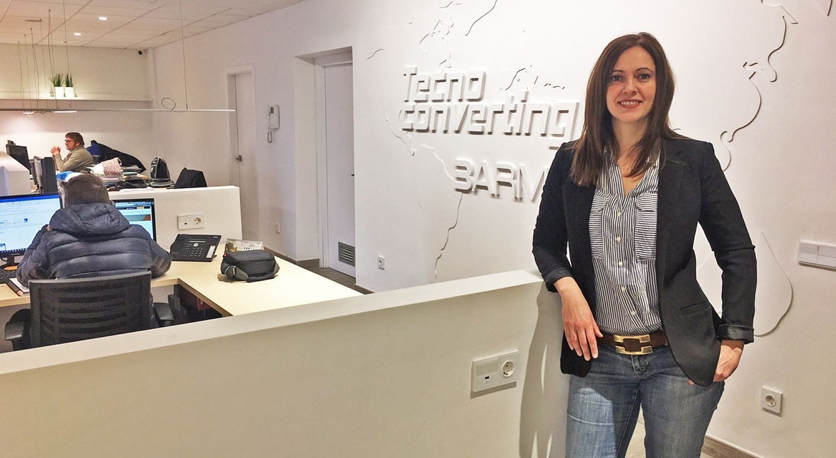 """Lidia Piqué: """"TecnoConverting has always invested in innovation"""""""