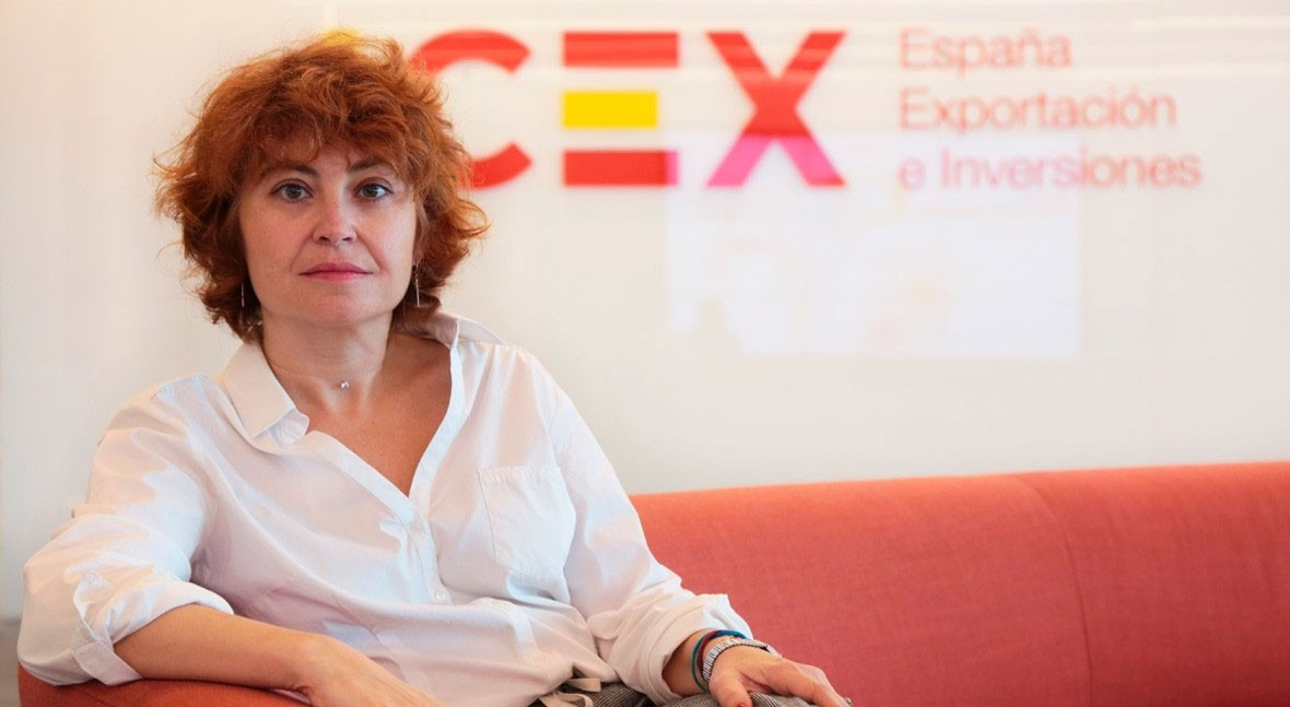 """María Peña (ICEX): """"Water is increasingly gaining more weight in our activities"""""""