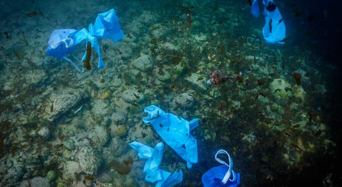 Coronavirus face masks and gloves pollute European rivers