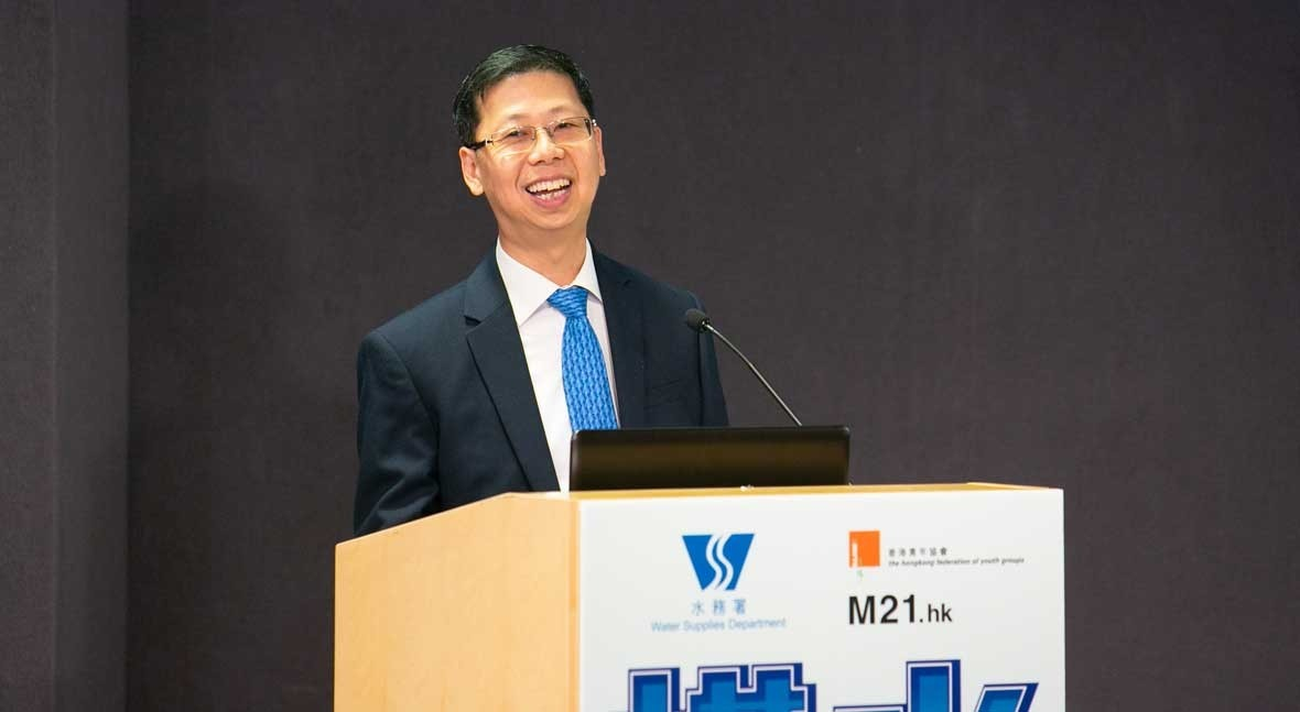 """Mr CL Wong (WSD): """"We have been using seawater for flushing in Hong Kong since the late 1950s"""""""