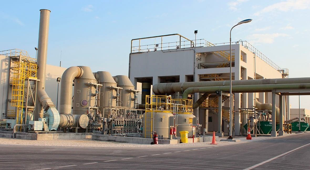The two-year anniversary of the acquisition of the Muharraq wastewater treatment plant in Bahrain