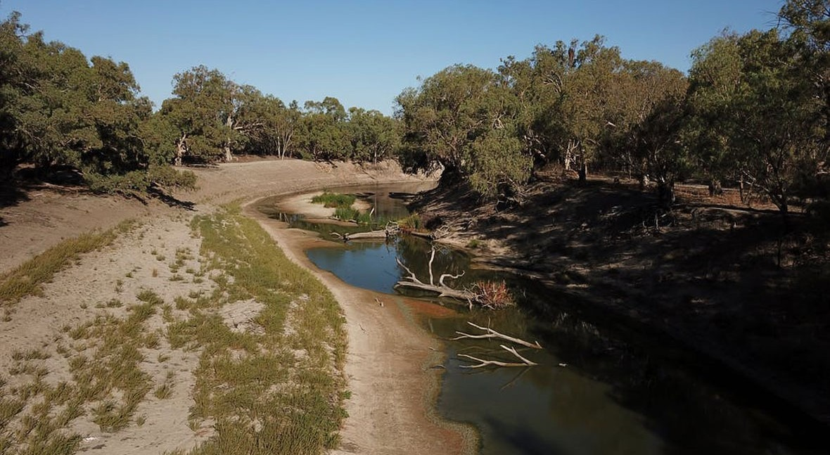Billions spent on Murray-Darling water infrastructure: here's the result