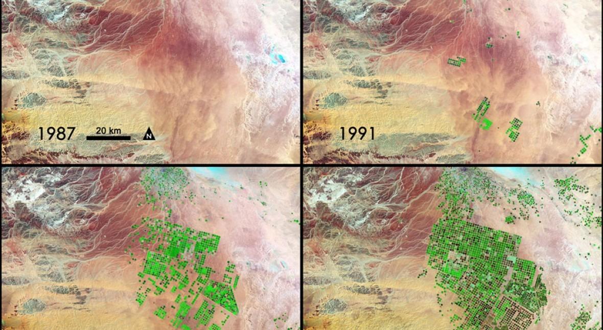 Saudi Arabia's groundwater to run dry