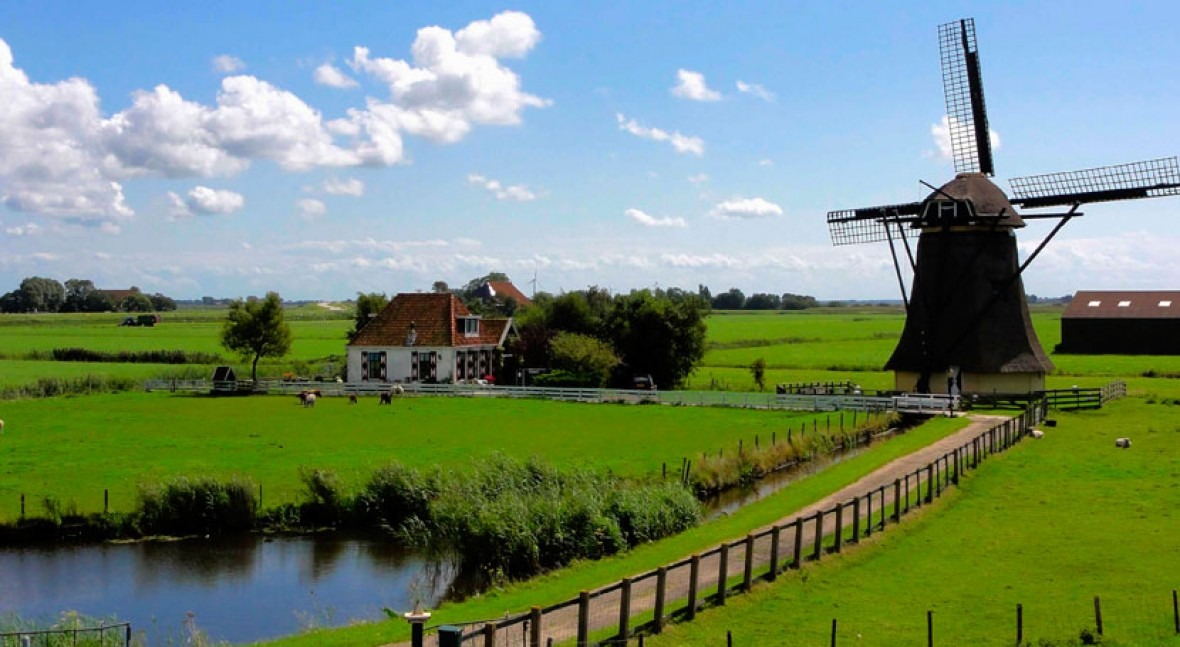 The Netherlands, usually wet, now invests in dealing with drought