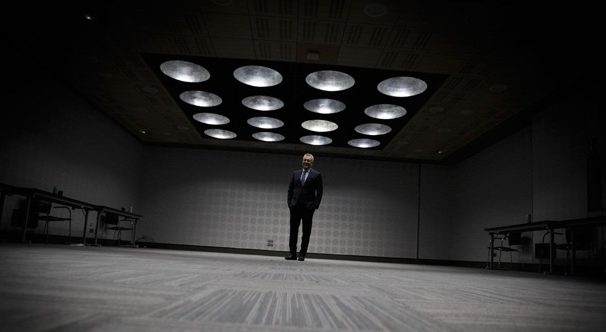 Patrick Blethon, CEO of Saur (Photo: Guillermo Martínez).