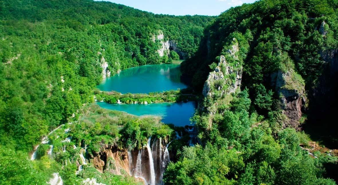 Plitvice Lakes, water wedding destination