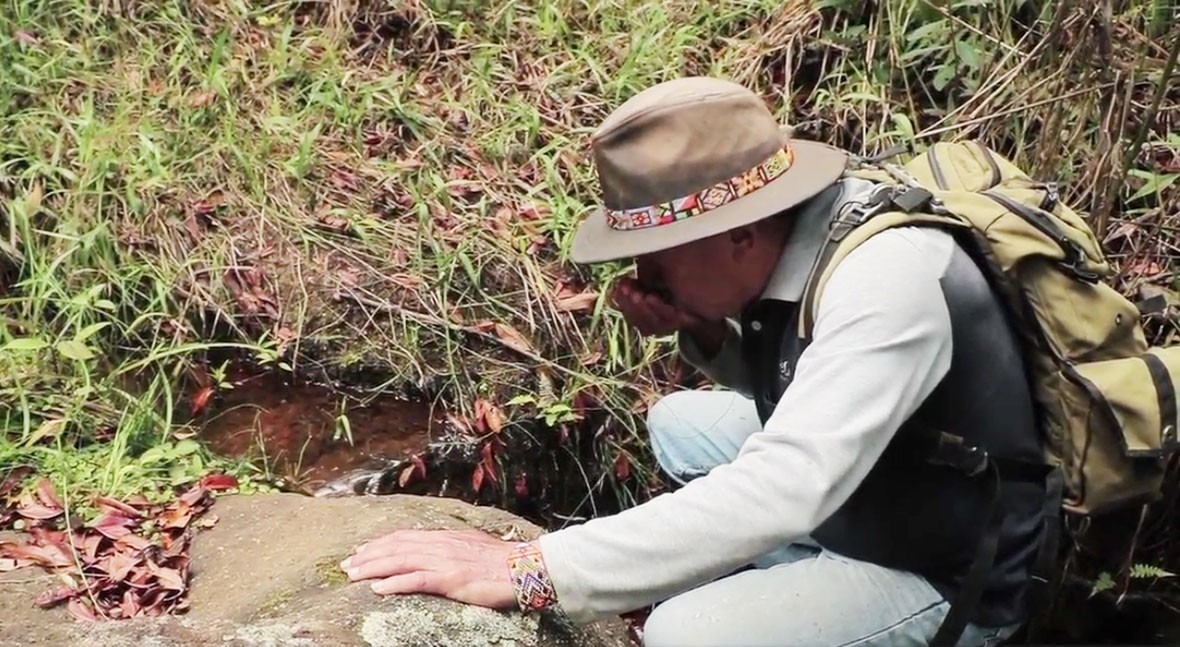 Pristine water, treasure in the heights of Colombia