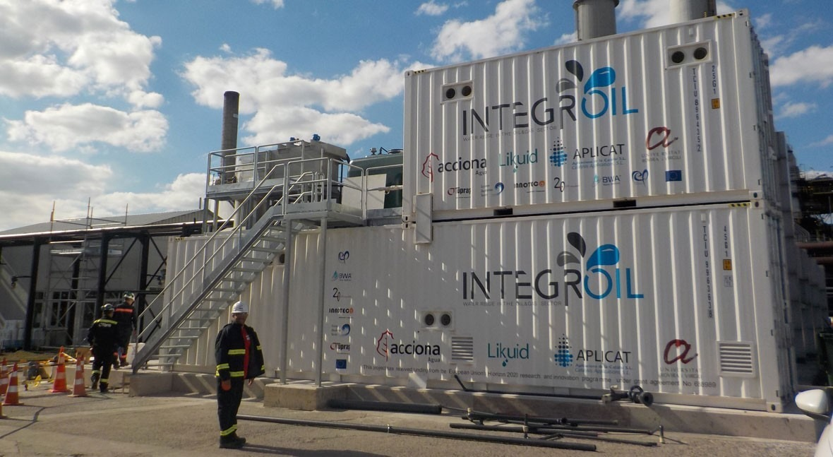 """""""INTEGROIL contributes to reducing the dependency of industries on water resources"""""""