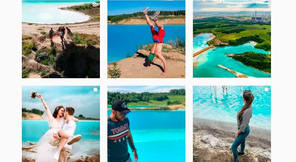 Novosibirsk: Russian Instagrammers' paradise is actually toxic lake