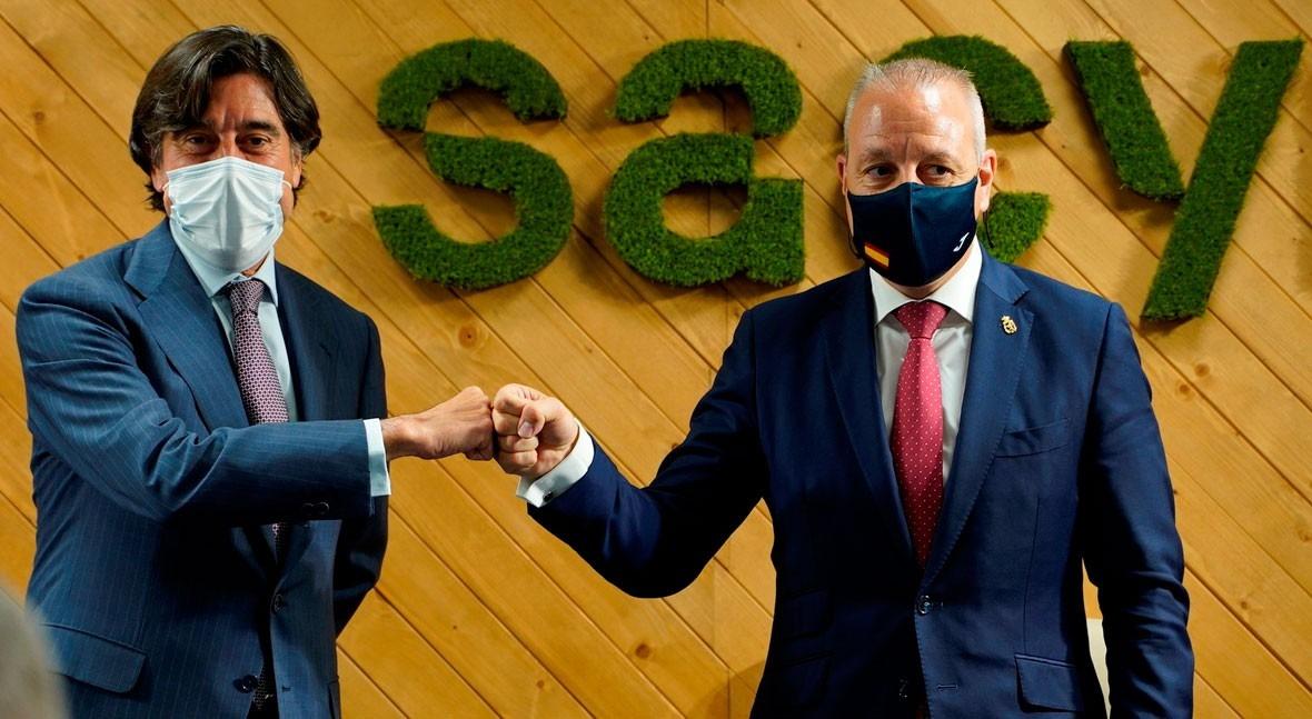 Sacyr renews its commitment to the Spanish Handball Federation