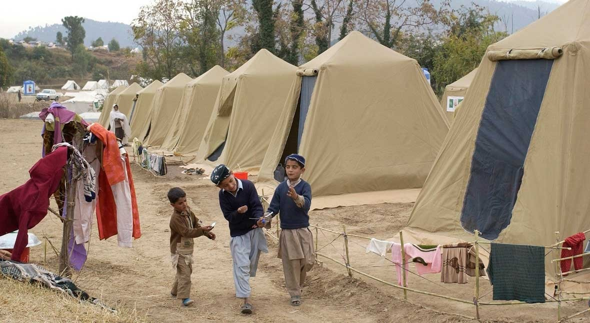 COVID-19 looms over refugee camps where water scarcity is commonplace