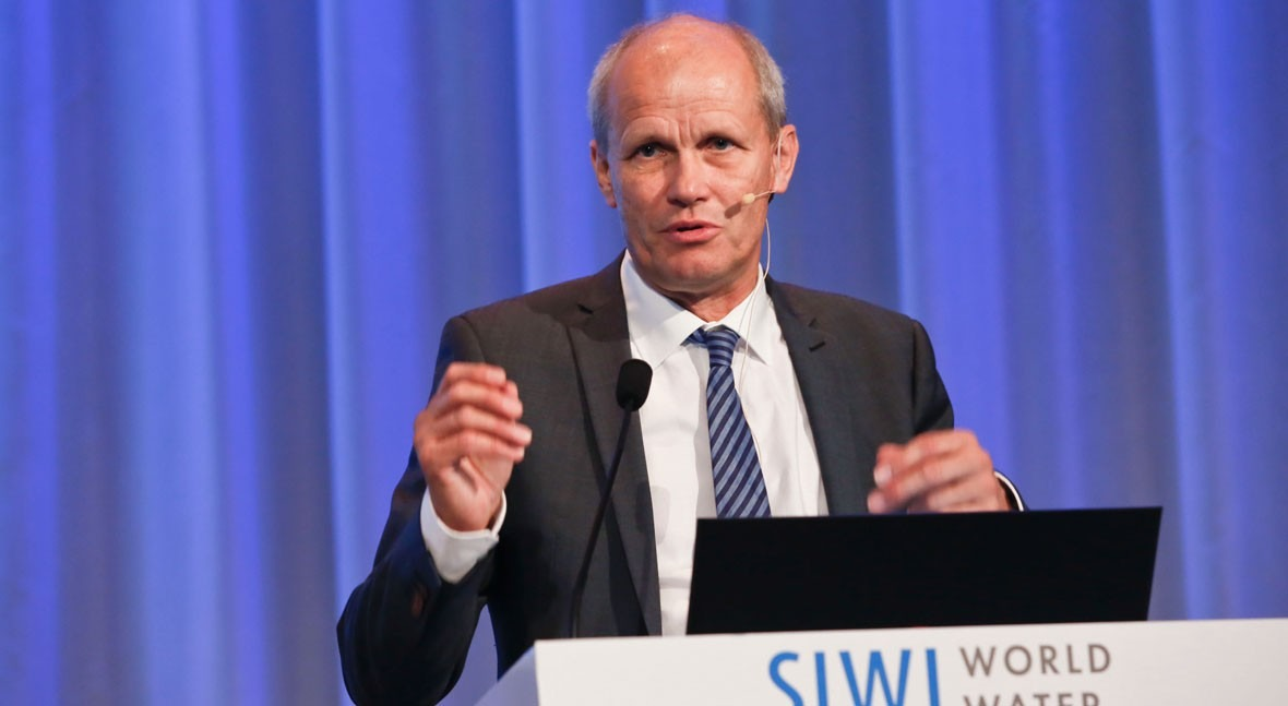 """Torgny Holmgren (SIWI): """"All sectors of society must be part of decision-making about water"""""""
