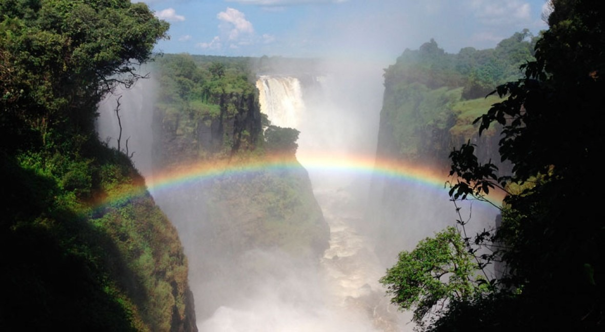 Victoria Falls Is Drying Up