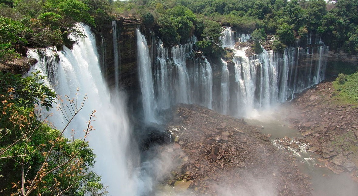 Magical Kalandula Falls