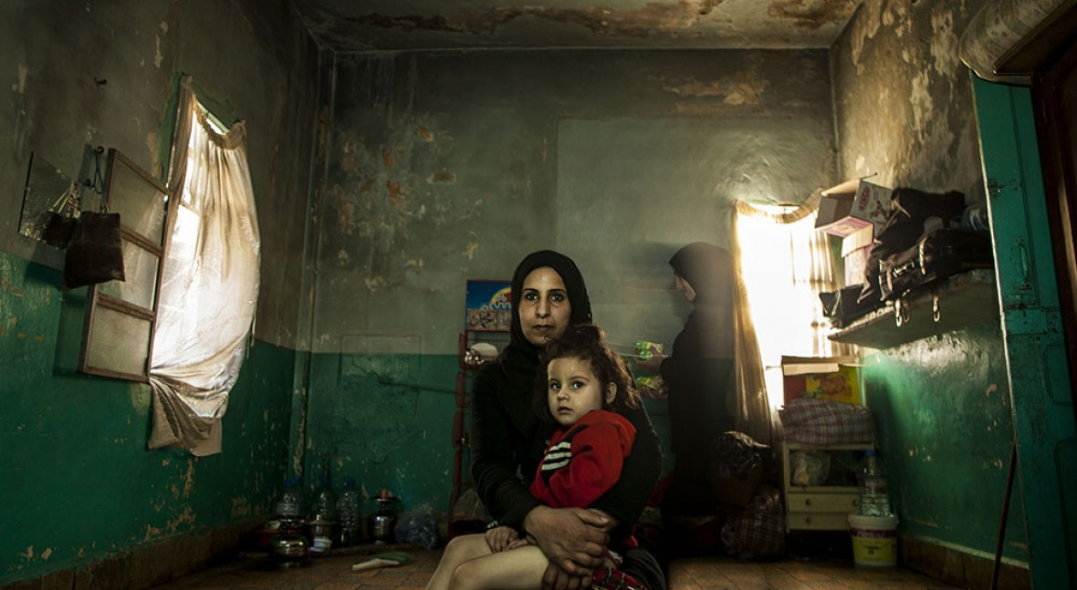Refugees and water stress, an intolerable combination