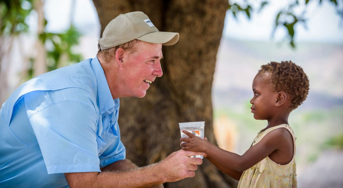 """Greg Allgood (World Vision): """"We have the knowledge to solve the global water crisis"""""""