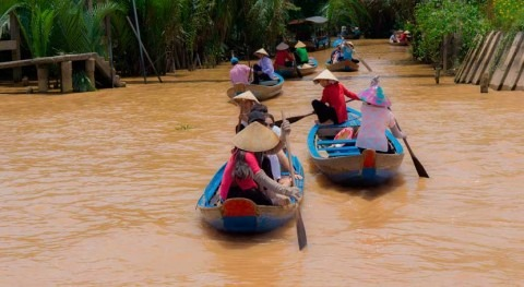 Drought continues to hit Mekong countries, risking stress on crop production, water shortages