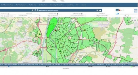 Emasesa's Integrated Operations and Sensors Map (MIOS) facilitates decision-making in real time
