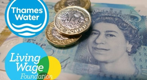 Real Living Wage commitment to Thames Water's key workers