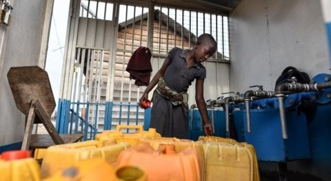 UNICEF works to restore water to 200,000 people in Goma cut off because of volcano lava damage