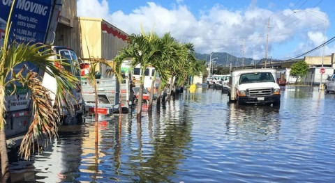 Study projects surge in coastal flooding, starting in 2030s