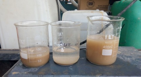 novel method for water recycling in pack-houses