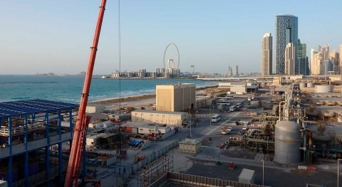 ACCIONA-built Jebel Ali SWRO desalination plant producing at full capacity water for Dubai