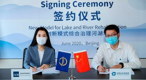 ADB partners with commercial banks in $300 million loan for lake and river rehabilitation in PRC