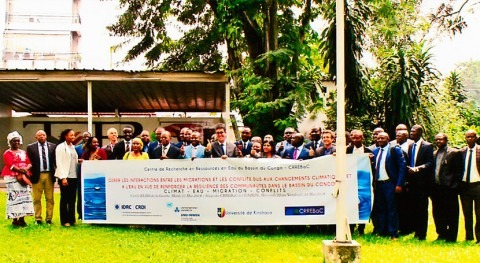 Addressing climate and water driven migration in the Congo Basin